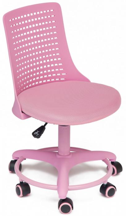 TetChair Кресло детское Kiddy Кидди розовая ткань и пластик