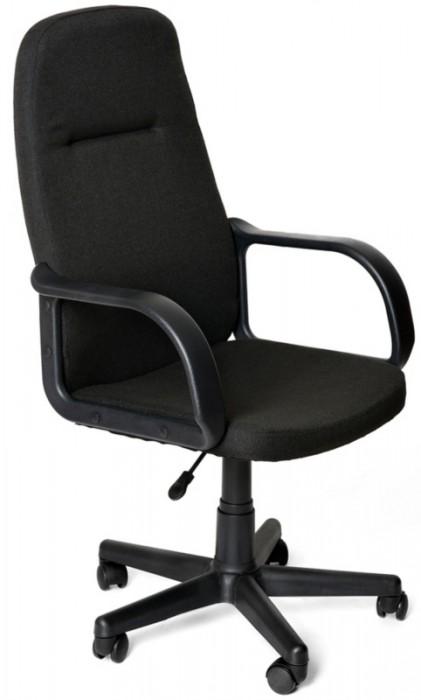 Кресло руководителя LEADER Лидер ткань черная