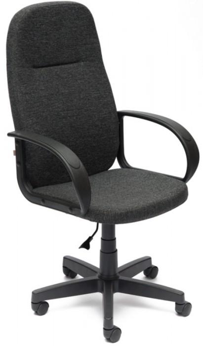Кресло руководителя LEADER Лидер ткань серая