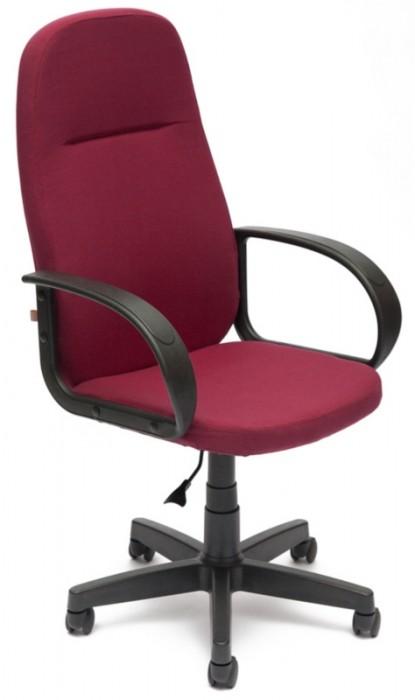 Кресло руководителя LEADER Лидер ткань бордо