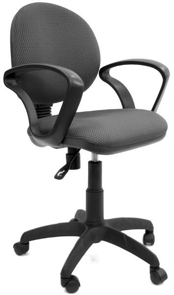 Кресло офисное CHAIRMAN 682 ткань TW-12 серая