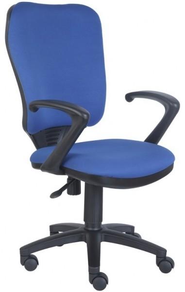 Кресло офисное CH-540AXSN ткань синяя 26-21
