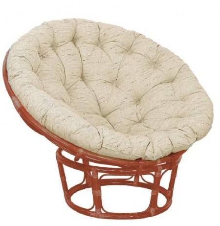 TetChair Кресло из ротанга Papasan Папасан цвет коньяк, подушка в комплекте