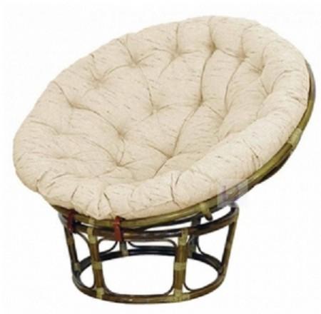 TetChair Кресло из ротанга Papasan Папасан цвет олива + подушка