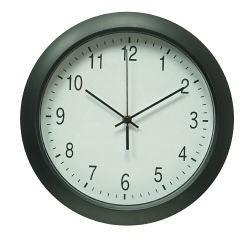 Бюрократ (BURO) Часы настенные R02P, круглые, черные, d30.5 см, плавный ход
