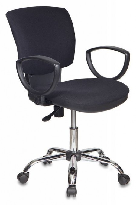 Кресло офисное CH-626AXSL ткань черная 10-11, крестовина хром