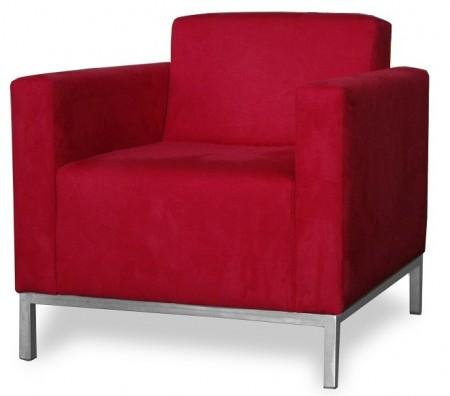 Кресло для отдыха ЕВРО люкс экокожа черная Terra 118