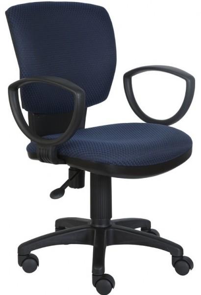 Кресло офисное CH-626AXSN ткань черно-синяя V-03-1