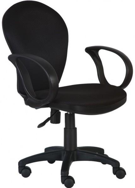 Кресло офисное CH-687AXSN ткань черная JP-15-2