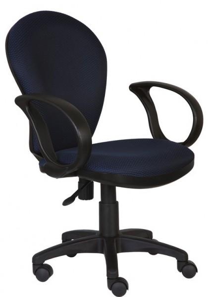 Кресло офисное CH-687AXSN ткань синяя JP-15-5