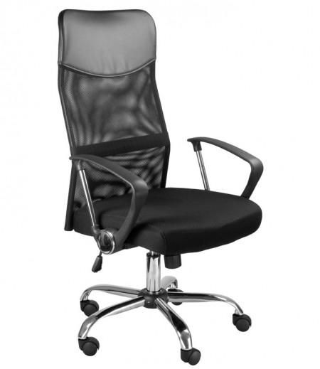Кресло руководителя MC-040L Direct Light Директ Лайт (МС-040Л) ткань черная