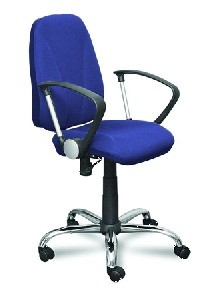 Кресло офисное CLIO Клио ткань синий TW-10