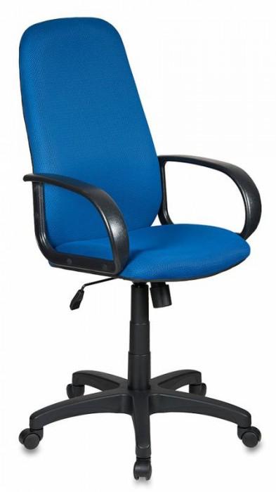 Кресло руководителя CH-808AXSN синяя ткань TW-10