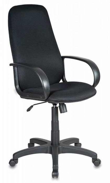 Кресло руководителя CH-808AXSN черная ткань TW-11