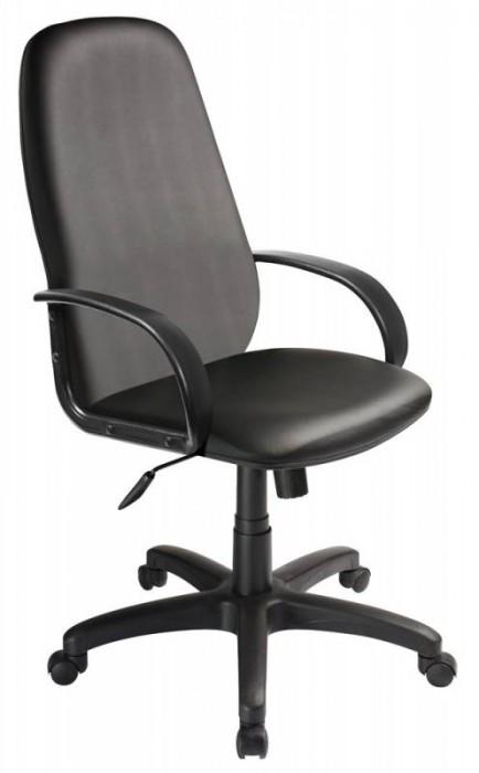 Кресло руководителя Ch-808AXSN экокожа черная