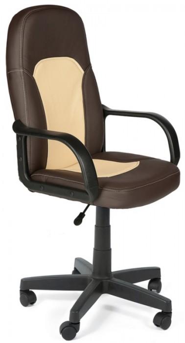 Кресло PARMA Парма коричневая экокожа вставка беж