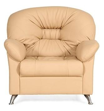 Кресло для отдыха Парм экокожа Terra