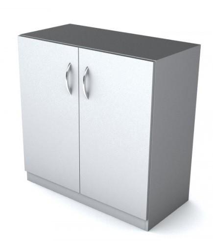 Шкаф низкий Simple Симпл серый