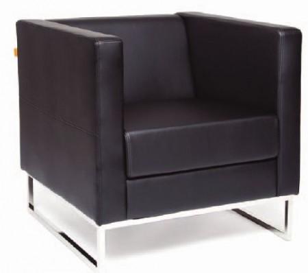 CHAIRMAN Кресло для отдыха Duna Дюна экокожа черная Terra 118