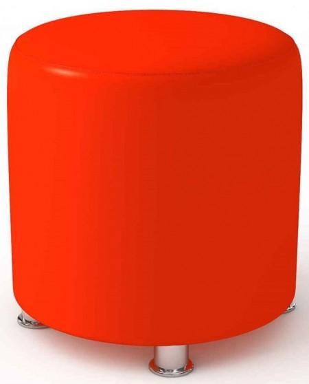 Пуф Альфа-люкс D 400 h 450 искусственная кожа Eco