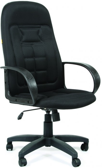 Кресло руководителя CHAIRMAN 727 ткань черная TW-11