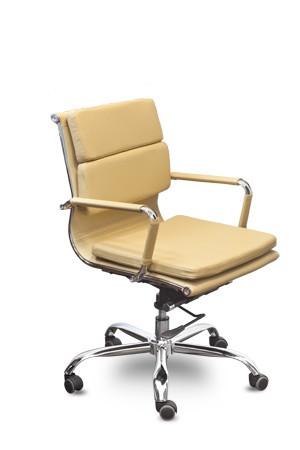 Кресло офисное Camaro (M) C1031B экокожа бежевая