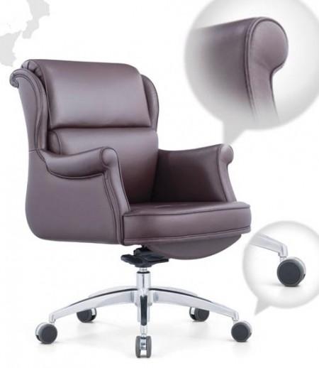 Кресло руководителя Консул_М Consul (M) MY-6016 кожа коричневая