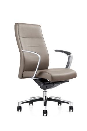 Кресло руководителя One(M) СH-263 кожа серая