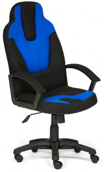 Кресло руководителя NEO3 Нео-3 ткань черный, синий