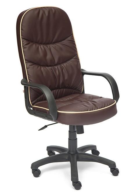 Кресло руководителя POLO Поло, экокожа коричневая