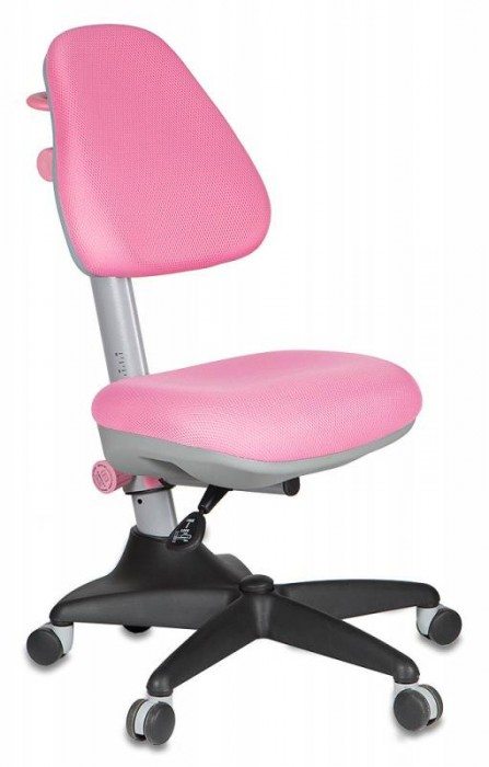 Кресло детское KD-2 розовая ткань TW