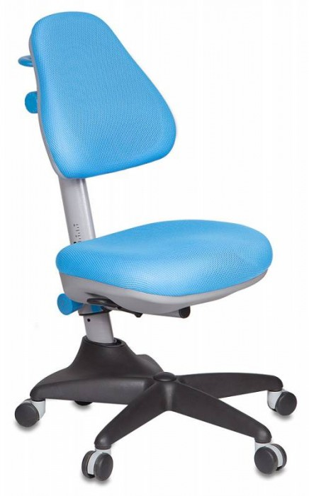 Бюрократ (BURO) Кресло детское KD-2 голубая ткань TW-55