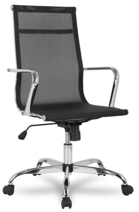 Кресло руководителя College H-966F-1 сетка черная