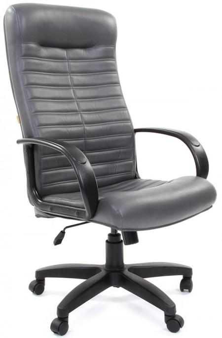 Кресло руководителя CH-480 LT экокожа серая, Chairman 480 LT