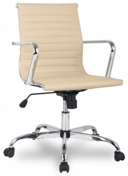 Кресло офисное College H-966L-2 бежевая иск. кожа