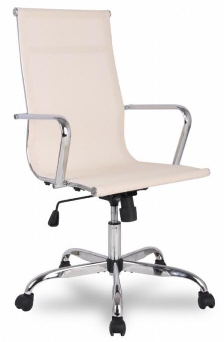 Кресло руководителя College H-966F-1 сетка бежевая