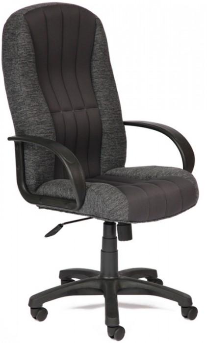Кресло руководителя CH833, ткань серая, вставка TW