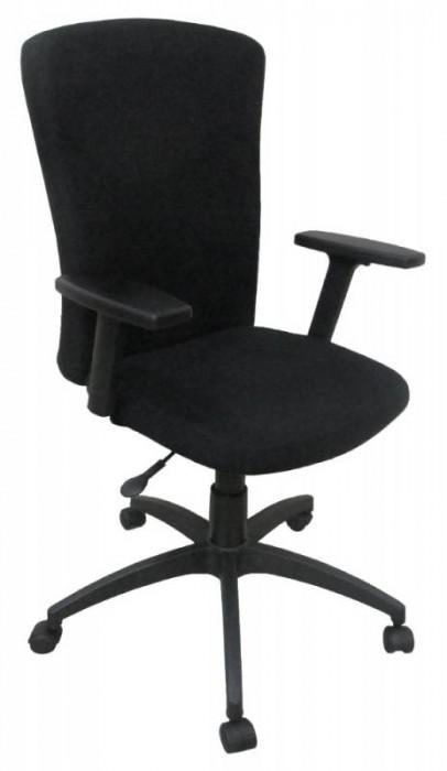 Кресло офисное T-471 ткань черная 26-28