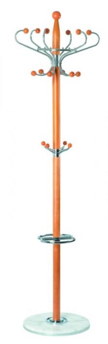 TetChair Вешалка напольная XY-018, 178см D-38 бук, белый