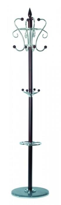 TetChair Вешалка напольная XY-019 178см D-38 орех, черный