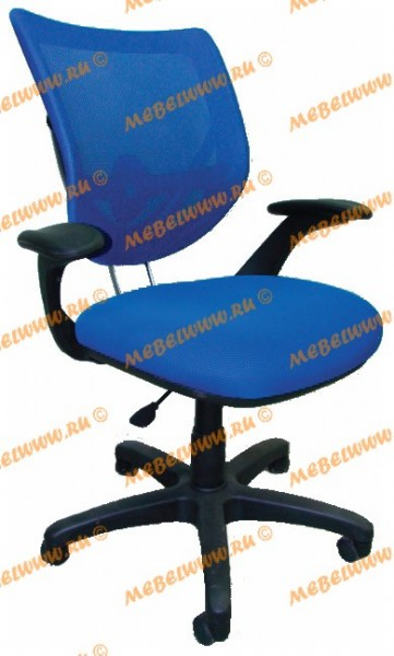 Кресло руководителя CH974 ткань TW синяя