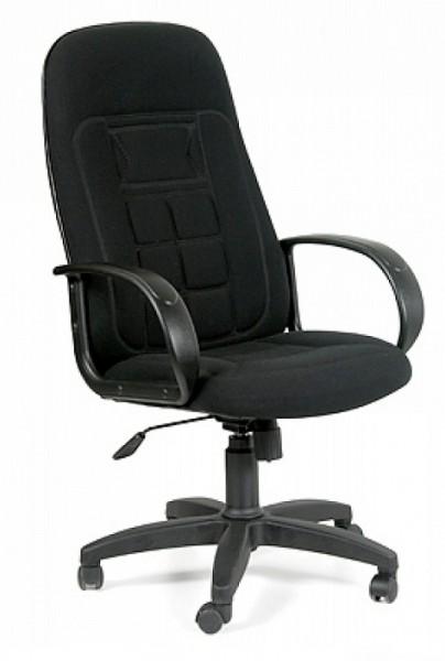 Кресло руководителя 727 ткань черная