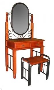 TetChair Туалетный столик с пуфом 5