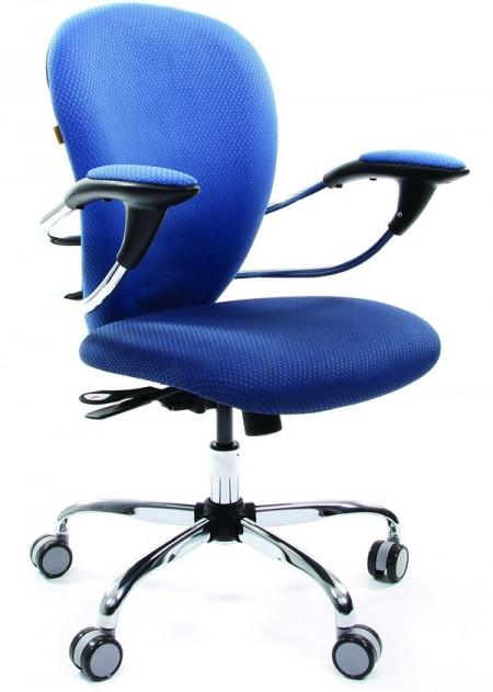 Кресло офисное CHAIRMAN 686 сине-голубое