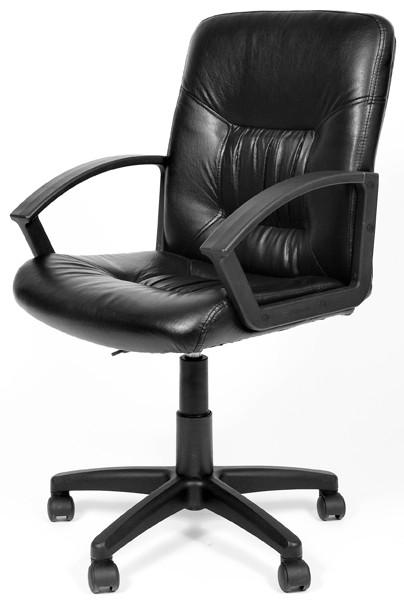 Кресло офисное CHAIRMAN 651 экокожа черная РТ