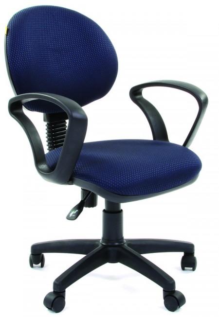 Кресло офисное CHAIRMAN 682 ткань JP-15-5 черно-синяя