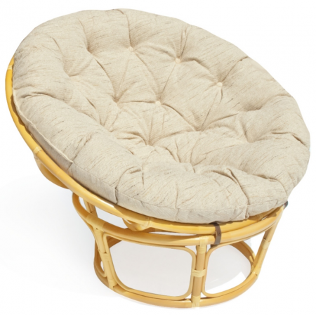 TetChair Кресло из ротанга Papasan Папасан цвет мёд + подушка